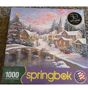 Brand New Springbok Heaven on Earth 1000 pc Puzzle